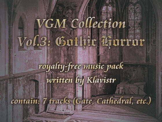 "[RJ217867][KLV Canvas] ロイヤリティフリー楽曲素材集 ""VGM Collection Vol.3: Gothic Horror"" – zip Torrent Magnet-Link"