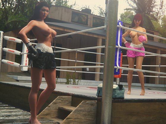[RJ232845][Mr. Taffy's Boxing Gym] Taffy Girlz: Digital Fighters