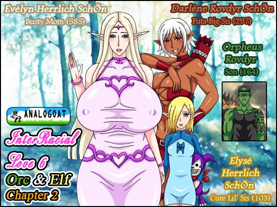 [RJ234946][ANALOGOAT] InterRacial Love 6 – Orc & Elf (Chapter 2) – zip Torrent Magnet-Link