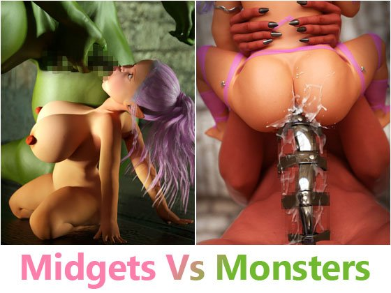 [RJ238270][Witching Hour Entertainment] Midgets Vs Monsters